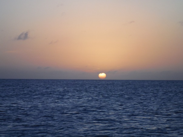 Sunset In Barbuda