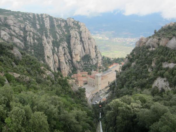 Looking Down On Montserrat