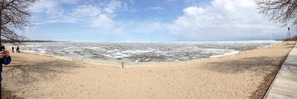 Lake Winnipeg, May 18, 2014